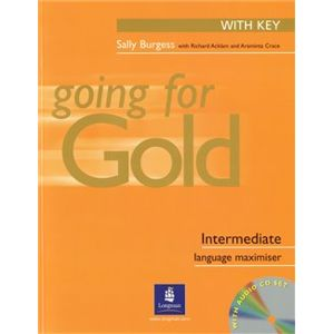 Going for Gold Intermediate Exam Maximiser With Key & Audio CDs - Richard Acklam, Sally Burgess, Araminta Crace
