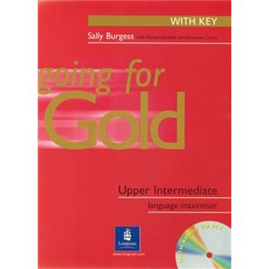 Going for Gold UPP-INT Exam Maximiser (with Key) and Audio CD* - Richard Acklam, Sally Burgess, Araminta Crace