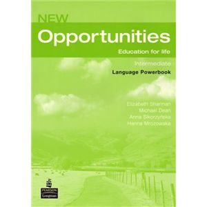 New Opportunities Intermediate - Powerbook+CD-ROM - Anna Sikorzyńska, Elizabeth Sharman, Michael Dean, Hanna Mrozowska