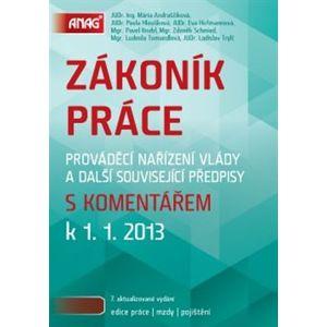 Zákoník práce s komentářem k 1. 1. 2013