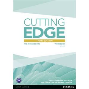 Cutting Edge 3rd Edition Pre-Intermediate Workbook with Key for Pack - Sarah Cunningham, Peter Moor
