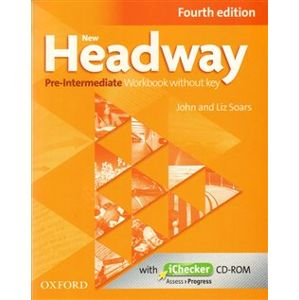 New Headway Fourth Edition Pre-intermediate Workbook Without Key with iChecker CD-ROM - Liz Soars, John Soars