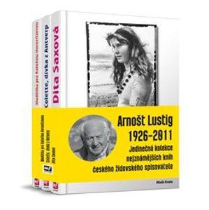 Arnošt Lustig 1926-2011. Jedinečná kolekce nejznámějších knih českého židovského spisovatele - Arnošt Lustig