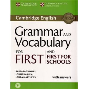 Grammar and Vocabulary for First and First for Schools Book w. Answ. w. Audio