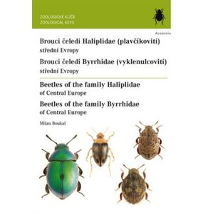 Brouci čeledi Haliplidae / Brouci čeledi Byrrhidae. Beetles of the family/ Haliplidae and Byrrhidae - Milan Boukal