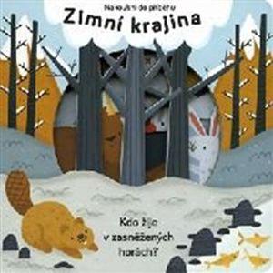 Zimní krajina - Nakoukni do příběhu. Kdo žije v zasněžených horách?