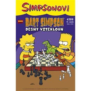 Bart Simpson 4/2018: Děsný vztekloun - kolektiv autorů