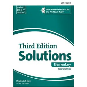 Maturita Solutions 3rd Elementary Essentials Teachers Book & Resource Disc Pack - Christina de la Mare, Tim Falla, Paul A Davies