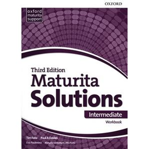 Maturita Solutions 3rd Edition Intermediate Workbook CZ - Eva Paulerová, Tim Falla, Paul A Davies