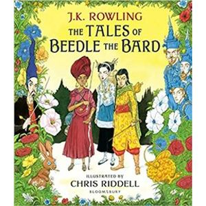 The Tales of Beedle the Bard: Illustrated Edition - Joanne K. Rowlingová