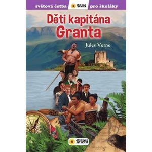 Děti kapitána Granta. zjednodušená četba pro školáky - Jules Verne
