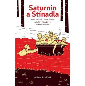 Saturnin a stínadla. aneb setkání Lídy Baarové a Adiny Mandlové v Havlově vaně - Alžběta Prknářová