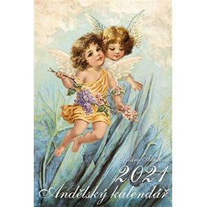 Kalendář 2021 nástěnný – Klára Trnková, Andělský - Klára Trnková