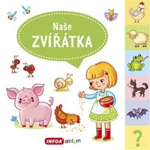Velká knížka se záložkami - Naše zvířata - Jana Navrátilová